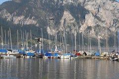 Österreich - See Traun stockbild