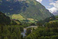 Österreich-Tal stockbild