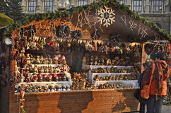 Österreich, Weihnachtsmarkt Lizenzfreie Stockfotos