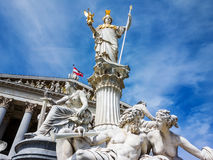 Österreich, Wien, Parlament Lizenzfreie Stockfotos