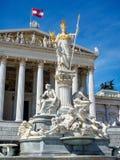 Österreich, Wien, Parlament Lizenzfreies Stockbild