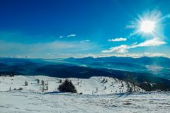 Österreich - Wintermärchenland stockfoto