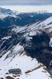 Österreichische Alpen Stockfoto