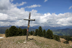 Österreichische Alpen Stockbild