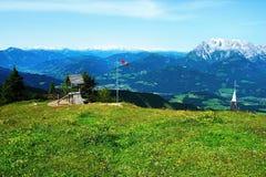 Österreichische Alpen Lizenzfreies Stockbild
