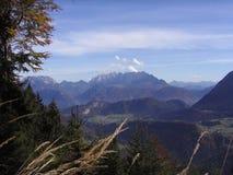 Österreichische Alpen Stockfotografie