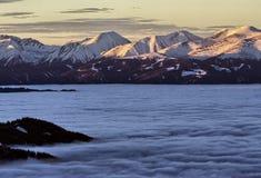 Österreichische Berge stockfoto