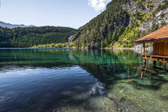 Österreichische Bergseen Lizenzfreies Stockfoto