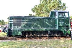 Österreichische Dieselrangierlokomotive 2067 stockfotos