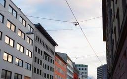 Österreichische Hauptstadt Stockfotos