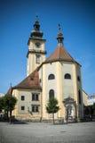 Österreichische Kirche stockfotografie