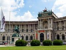 Österreichische Nationalbibliothek, Wien, Österreich Stockfotografie