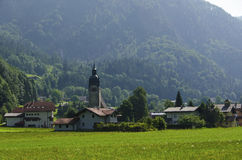Österreichisches Dorf stockfotos
