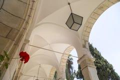 Österreichisches Pflegeheim in Jerusalem lizenzfreies stockbild