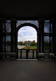 Österrike arbeta i trädgården slottschonbrunn vienna Royaltyfri Bild