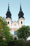 Österrike barockkyrka arkivfoto