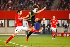 Österrike Belgien vs Arkivfoton