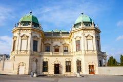 Österrike belvedereslott vienna arkivfoton