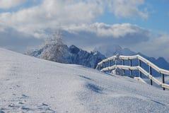 Österrike berg Fotografering för Bildbyråer