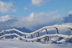 Österrike berg Arkivfoto