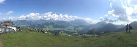 Österrike berg Royaltyfri Fotografi