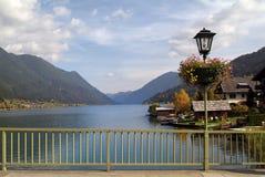 Österrike Carinthia, sjö Royaltyfria Bilder