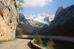 Österrike dachstein Arkivfoton