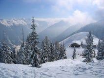 Österrike drömvinter Arkivbilder
