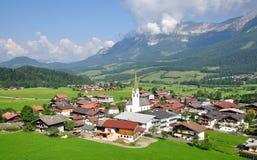 Österrike ellmau tyrol Arkivbild