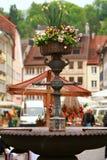 Österrike feldkirch royaltyfria foton
