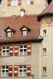 Österrike feldkirchliten stad arkivbild