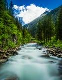 Österrike flod Royaltyfri Bild