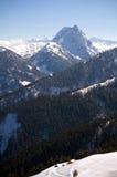 Österrike - fotvandra i fjällängarna för Kitzbà ¼heler Fotografering för Bildbyråer