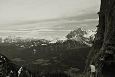 Österrike GÃ-³ry Alpy, Rejon Salzburg Arkivbilder