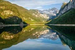 Österrike gosausee Arkivfoto