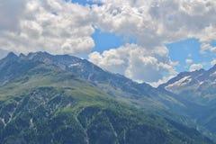 Österrike grossglockner Arkivbilder