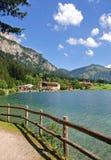 Österrike haldenseelake tirol Arkivbilder