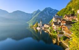 Österrike hallstatt Arkivfoton