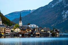 Österrike hallstatt arkivbild