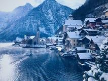 Österrike hallstatt Royaltyfri Fotografi