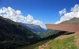 Österrike hochgurgl Royaltyfria Foton