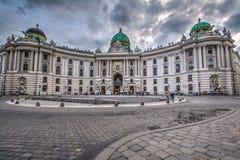 Österrike hofburgslott vienna Fotografering för Bildbyråer