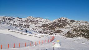 Österrike i vinter Royaltyfri Foto