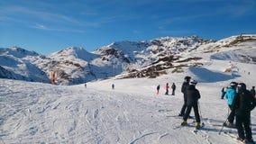 Österrike i vinter Royaltyfri Fotografi