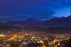 Österrike innsbruck Arkivbilder