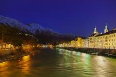 Österrike innsbruck Arkivfoto