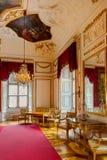 Österrike inre slott salzburg Arkivfoton