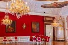 Österrike inre slott salzburg Royaltyfri Fotografi
