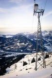 Österrike kitzbuhel Arkivfoton