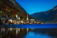 Österrike Krajobraz Royaltyfri Bild